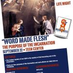 "9/22/13 Life Night- ""Word Made Flesh"""